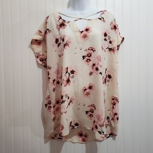 Rue+ Floral Blouse NWT Size 1X